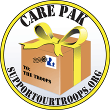 Soldier Care Packages Clip Art