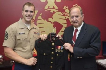 support our troops marine corps vet recalls experiences