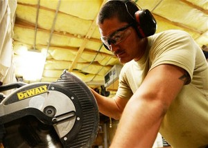 support our troops us airforce senior airman works on days off