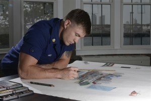 support our troops us coast guard chart art