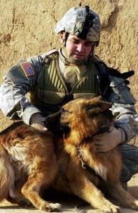 SOF K9 Bronze Military Dog Memorial Statue | Dogs of War