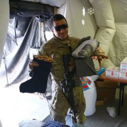 Helmand Province Afghanistan, December 25, 2016 supportourtroops.org