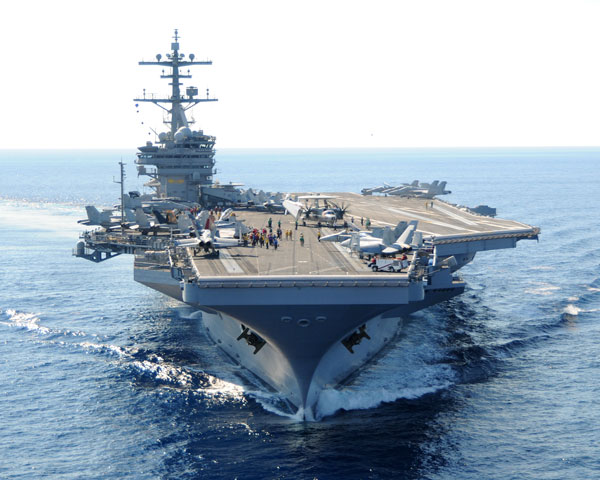 USS George H. W. Bush (CVN 77) - Nimitz Class carrier