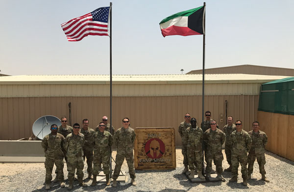 Thank you letter from Kuwait Supportourtroops.org