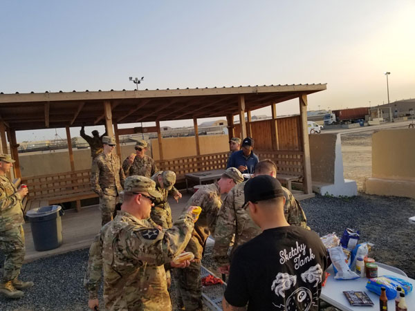 "Your care packages are a great hit with our soldiers. Our soldiers' biggest request is for coffee, granola bars, fruit bars, nuts, beef jerky and other ""healthy"" snacks."