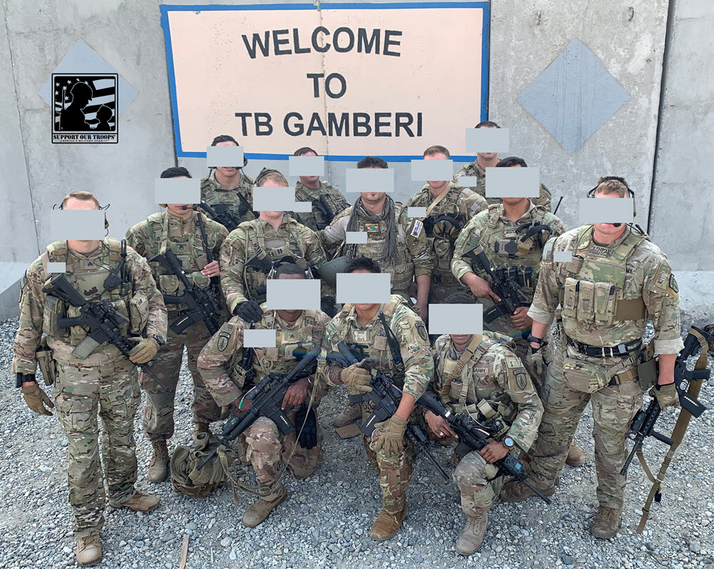 TB Gamberi, Afghanistan, December 16, 2019 – I would like to thank you for showing us your support we really appreciate it.  ~~ Sergio [  ]