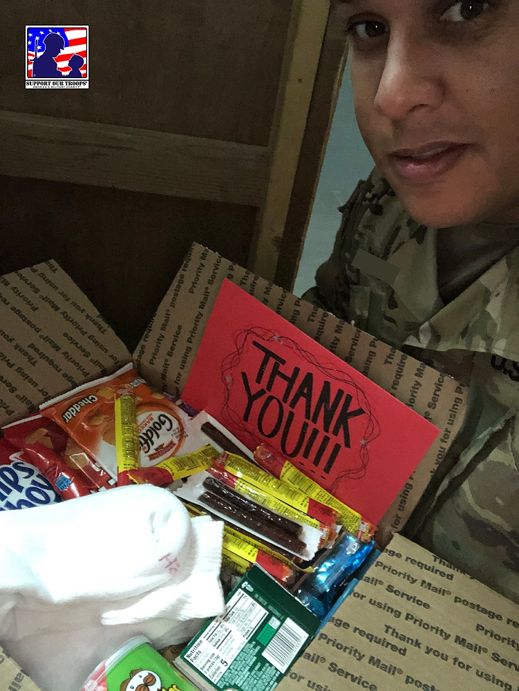 Thank you so much for the care package I greatly appreciate it.   ~~ Carlos [  ]