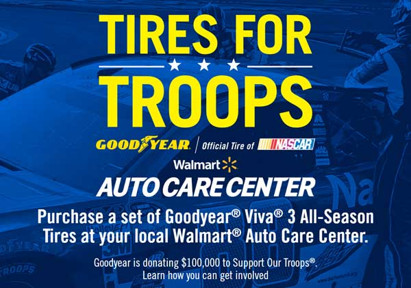 Tires for Troops
