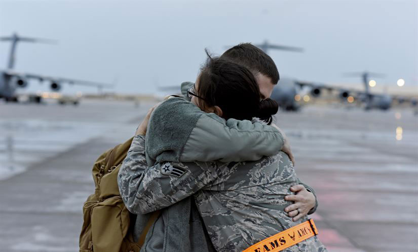 Married Airmen Serve Together2 supportOurTroopsOrg 500