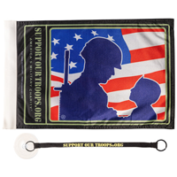 SOT Soldier with Kid Flag and Tether