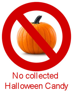 no halloween candy