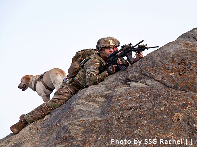 Support America's K-9 Soldiers