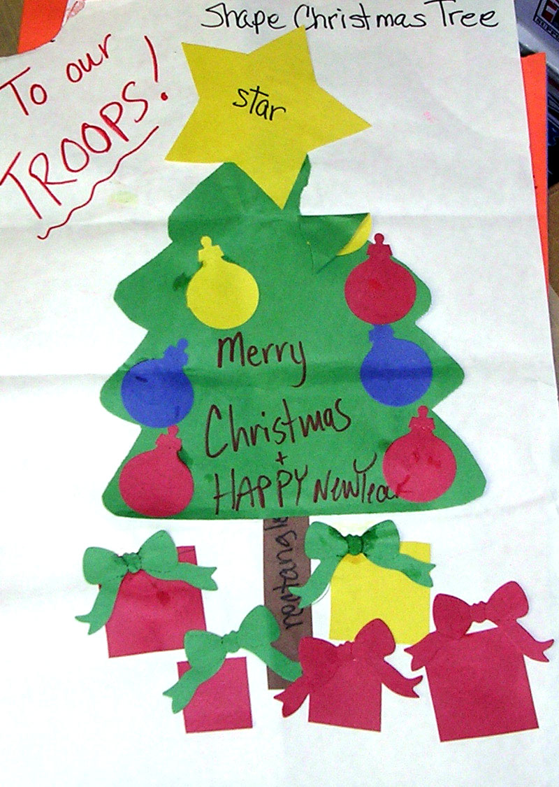 A Child \'s Christmas Message - Support Our Troops