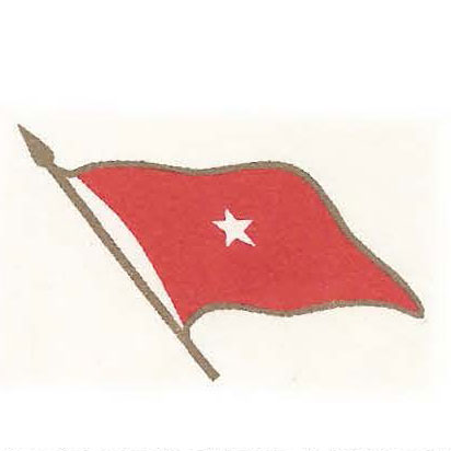 Rank flag of brigadier general